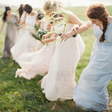Lauren and Jordan's Free People Style Wedding