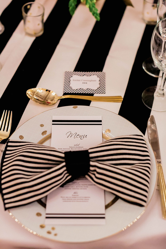 sainte-claire-hotel-kate-spade-wedding-black-stripes-pink-28