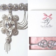 Wedding Garter Giveaway by La Gartier