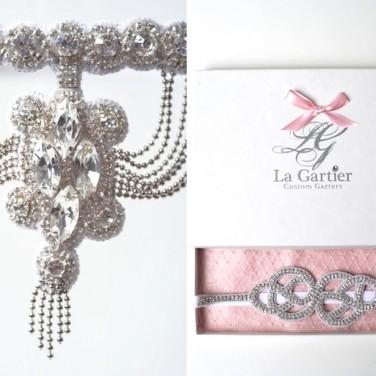 Wedding Garter Giveaway by La Gartier