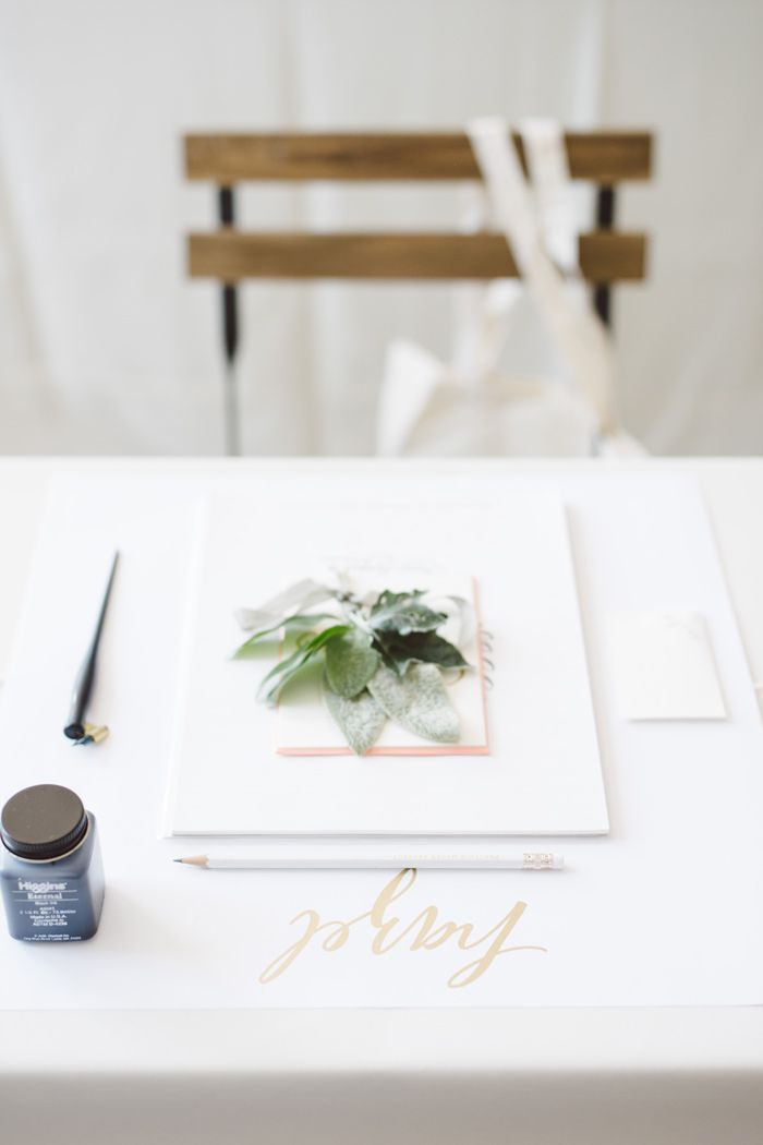Laura Hooper Calligraphy Workshop Best Wedding Blog
