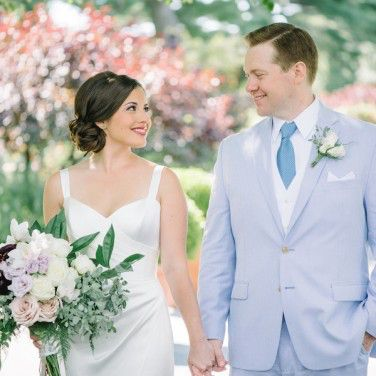 Allison and Alistair's New York Botanical Gardens Wedding