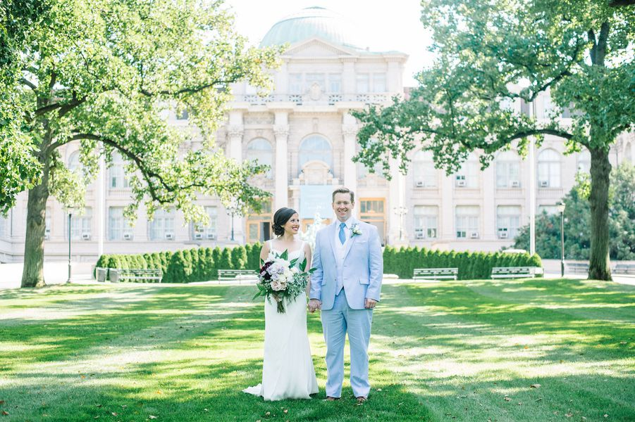 Allison and Alistair\'s New York Botanical Gardens Wedding