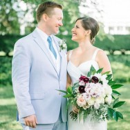 Allison and Alistair's New York Botanical Gardens Wedding