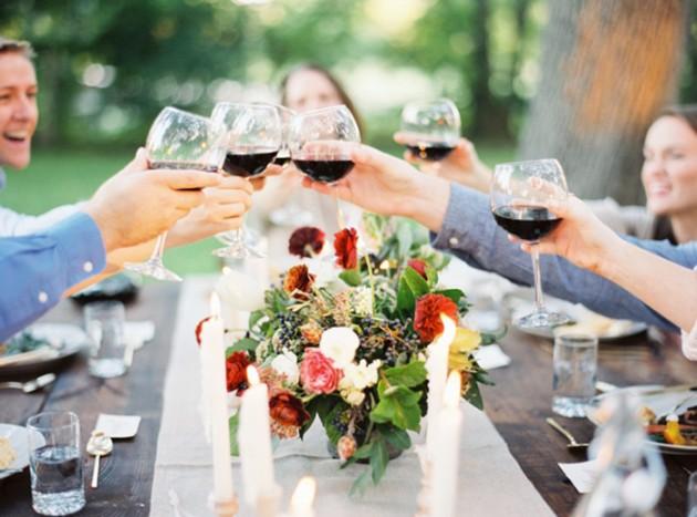 Wedding Blog Festive Autumn Rehearsal Dinner