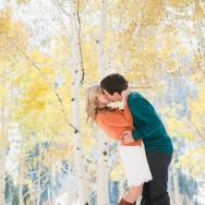 Kaitlin and Shaun's Fall Utah Engagement