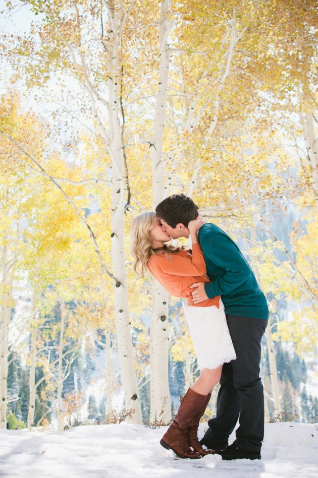 Wedding Blog Kaitlin and Shauns Fall Utah Engagement