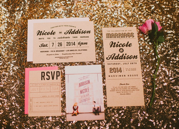marvimon-gold-sequin-pink-glam-modern-LA-wedding-4