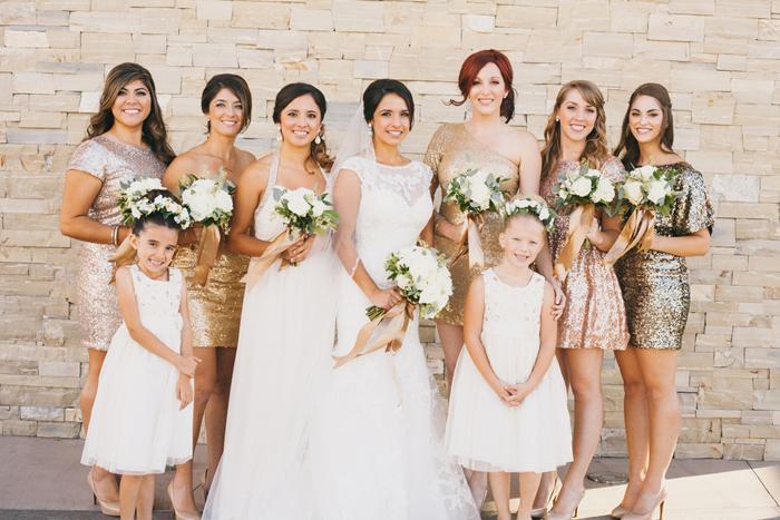 santa-maria-country-club-white-gold-wedding-sequin-bridesmaids-12