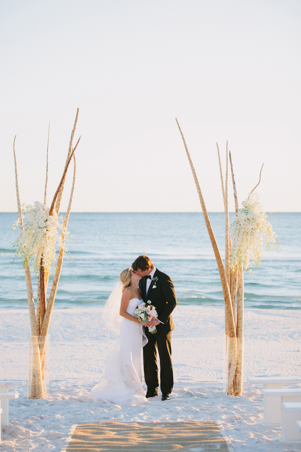 Seaside Beach Florida Wedding 1
