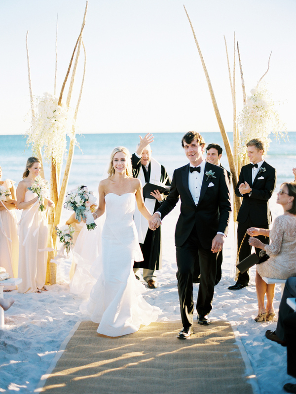 Seaside Beach Florida Wedding 9
