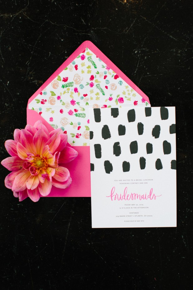 gem-inspired-bridesmaid-luncheon-bridal-shower-modern-city-hot-pink-12