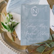 French Blue, Garden Romance by Kruse & Viera Events