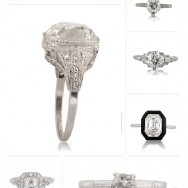 Heirloom Engagment Rings