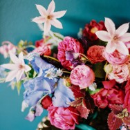 Jewel Tone Floral Inspiration Shoot