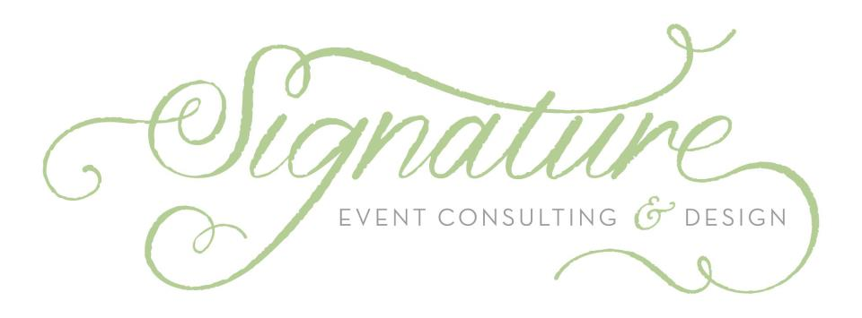 SIGNATURE, Event Consulting & Design