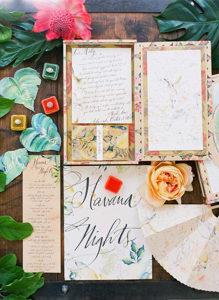 Cuban Inspired Wedding Shoot Best Wedding Blog