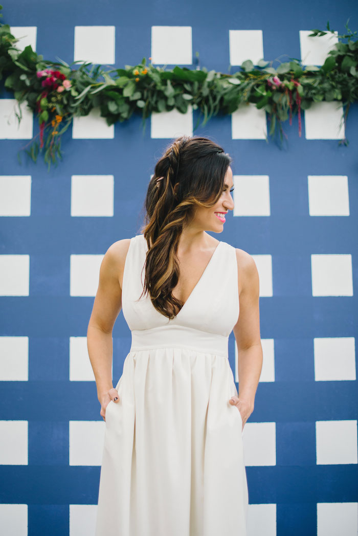 gingham-inspired-preppy-wedding-decor-ideas15