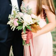 Copper + Blush Styled Shoot at Cedar Circle Farm