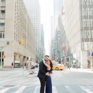 Phi and Bryan's New York City Engagement Session
