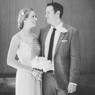 Emily and Bret's beverly hills elopement