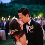 Nancy and Elbert's wedding at Campovida