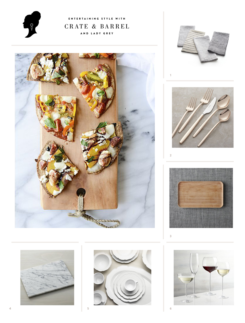 Crate and barrel friends and family - Crate Barrel Entertaining Style With Crate Barrel