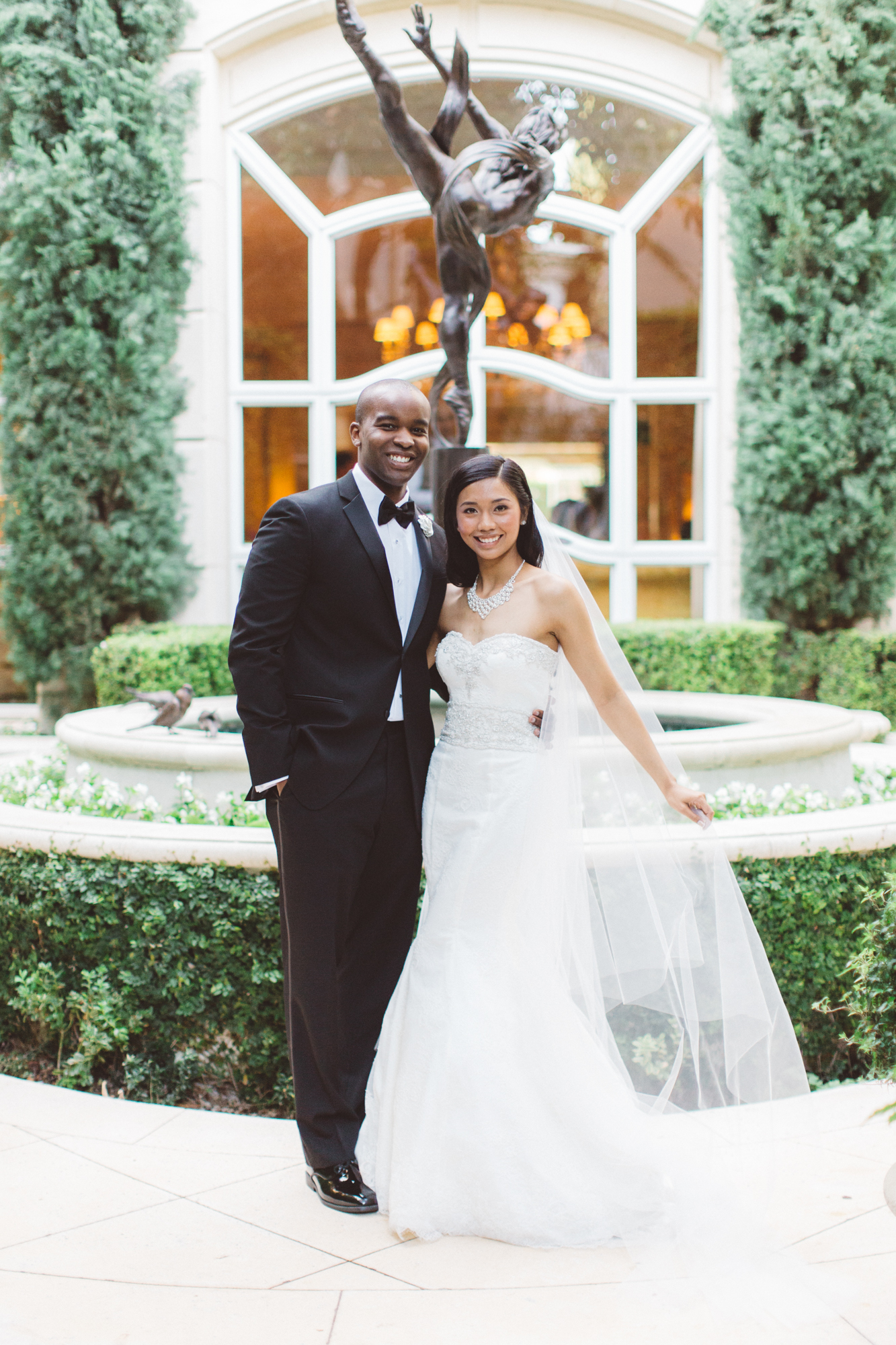 Marie and Louis\' Wedding in Beverly Hills Hotel