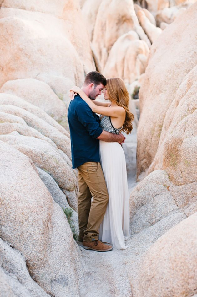 Joshua Tree Engagement Shoot Best Wedding Blog
