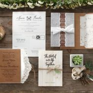 B*Wedding Invitations