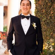 Nicole and Carlos' black tie wedding in Mexico