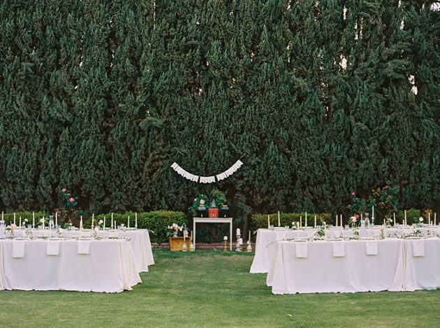 italian-theme-engagement-party-outdoor-cypress-tree-inspiration12