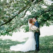 Courtney and Mike's wedding day at Mayowood Stone Barn