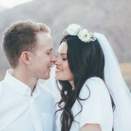 Emma and Will's wedding in Palm Springs