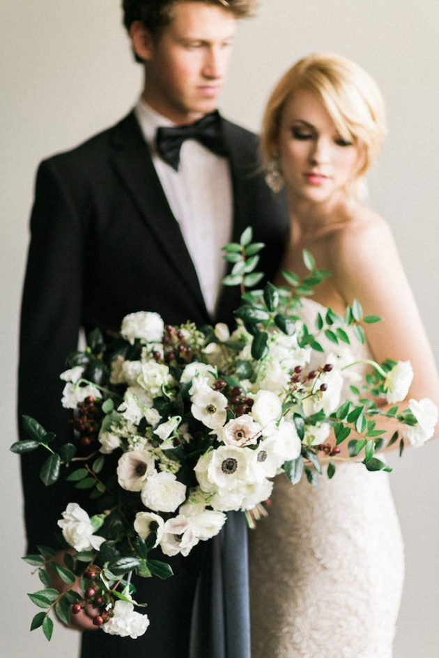 black-white-industrial-feminine-elegant-classic-wedding-inspiration38