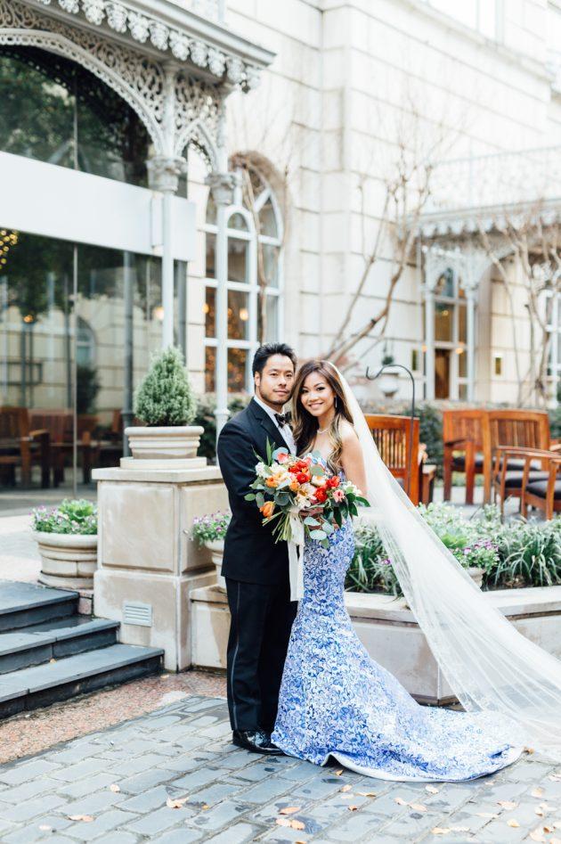 lush-blue-white-inspiration-shoot-elegant-garden-wedding41