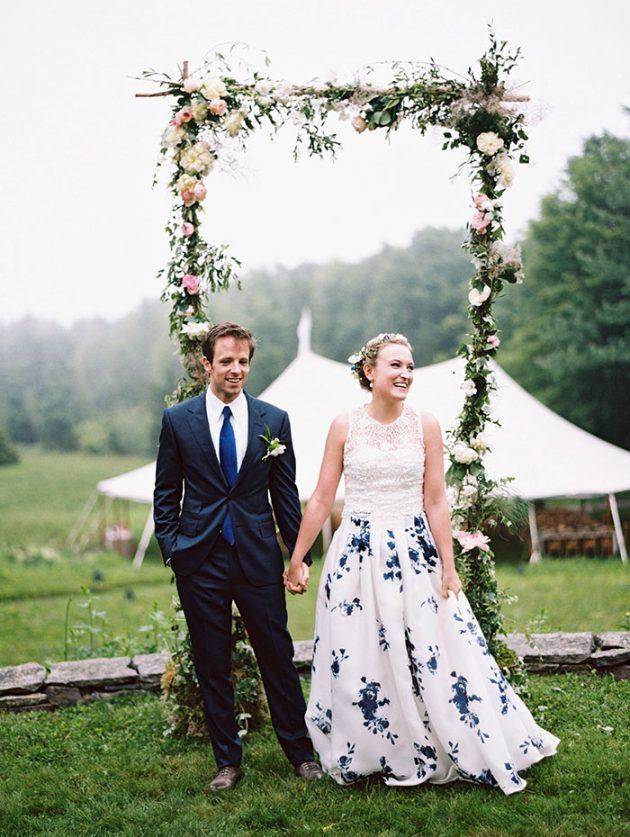 european-outdoor-garden-wedding-blue-dress-inspiration31