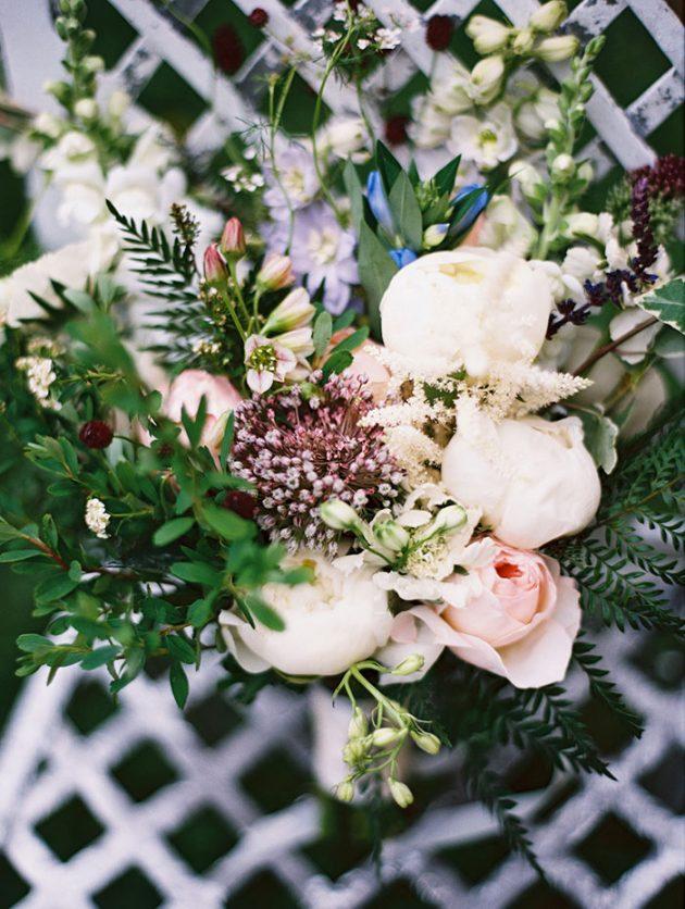 european-outdoor-garden-wedding-blue-dress-inspiration35