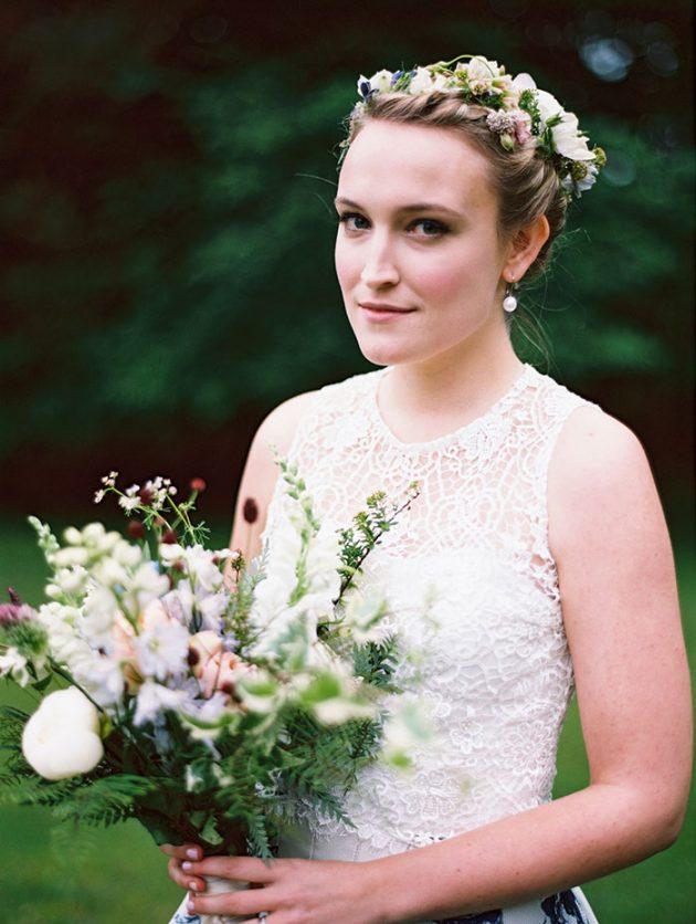 european-outdoor-garden-wedding-blue-dress-inspiration36