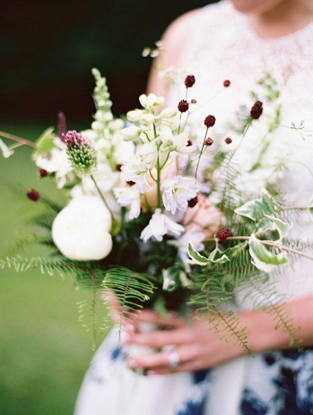 european-outdoor-garden-wedding-blue-dress-inspiration37
