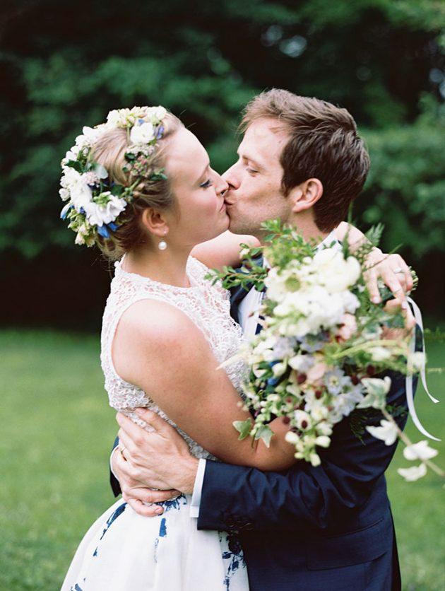 european-outdoor-garden-wedding-blue-dress-inspiration43