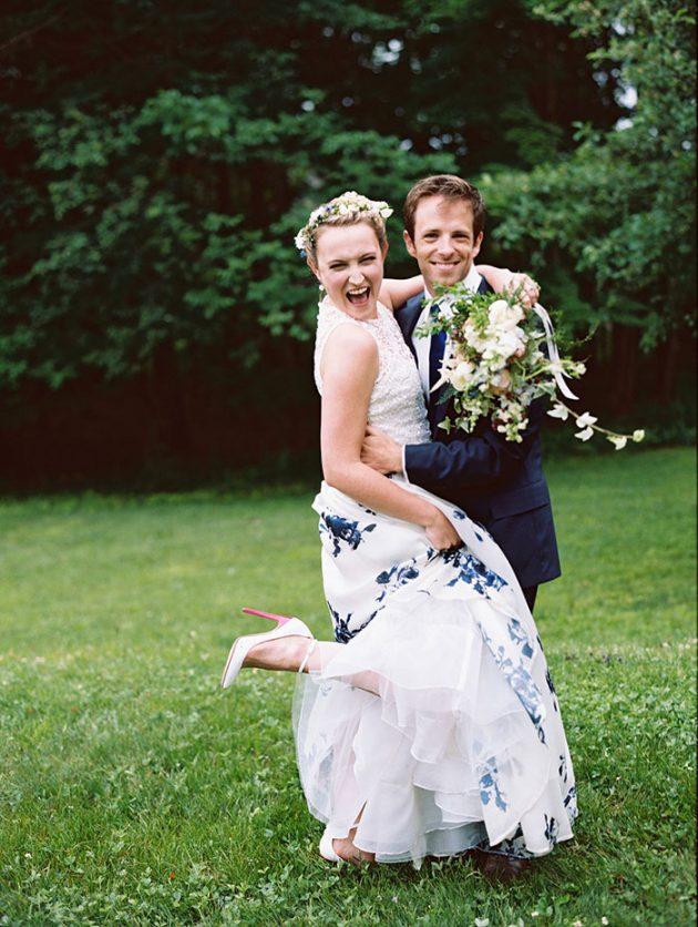 european-outdoor-garden-wedding-blue-dress-inspiration45