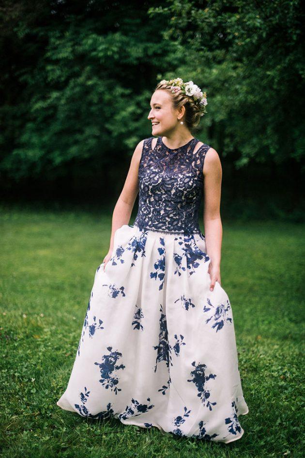 european-outdoor-garden-wedding-blue-dress-inspiration56
