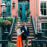Lianne and Nick's Hoboken Engagement Shoot