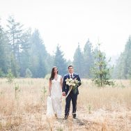 jessica and casey's wedding at Pine River Ranch