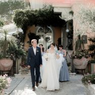 Rhianedr and Maxwell's Amalfi Coast Elopement