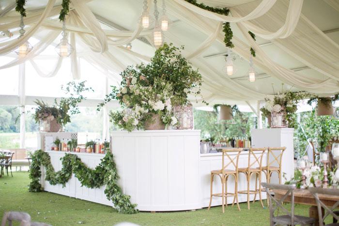 Houston Oaks Country Club White Wedding Inspiration37