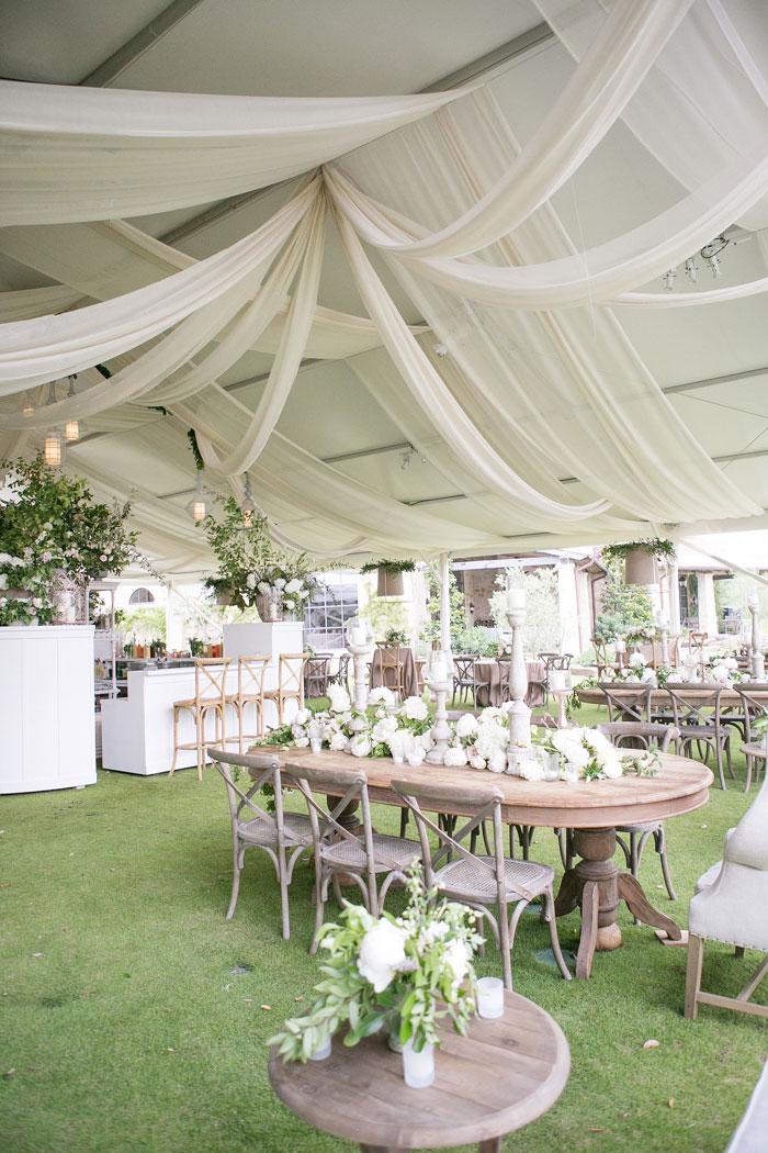 Houston Oaks Country Club White Wedding Inspiration42