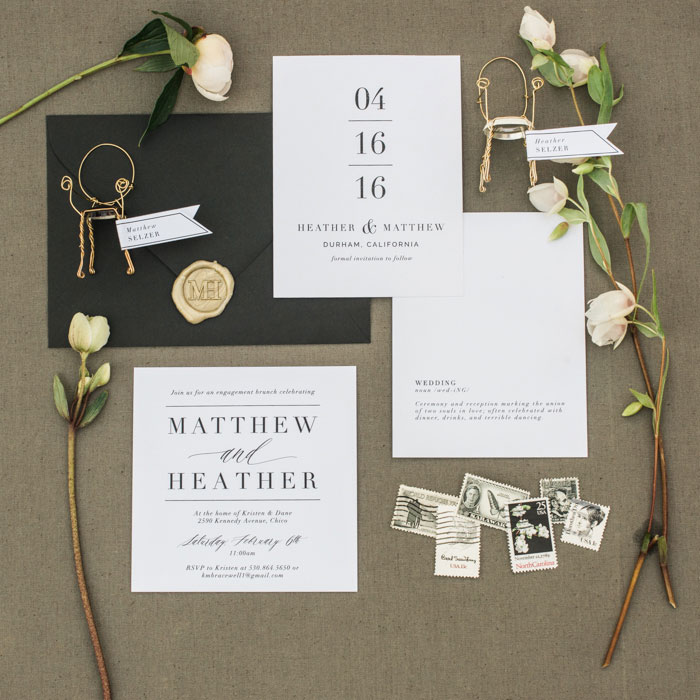 champagne-inspired-wedding-black-and-white-gold-typography-modern-inspiration52