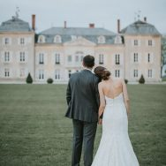 Magali and Milos' French Chateau Wedding